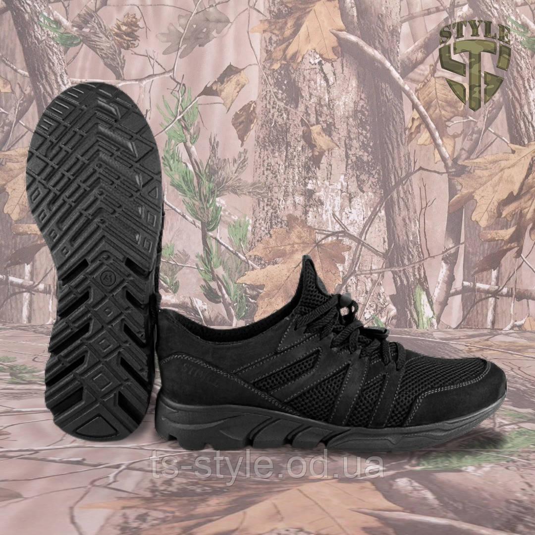 Трекінгові літні кросівки LEO чорні
