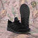 Трекінгові літні кросівки LEO чорні, фото 6