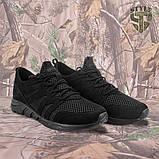 Трекінгові літні кросівки LEO чорні, фото 4