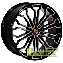 Литий диск Zorat Wheels BK601 9x20 5x130 ET48 DIA71.6 BP