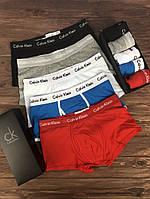 Набор мужских трусов Calvin Klein 365 Чёрный, Серый, Белый, Голубой, Красный