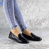 Мокасины женские Fashion Herman 2239 37 размер 24 см Черный, фото 5