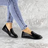 Мокасины женские Fashion Herman 2239 37 размер 24 см Черный, фото 6