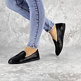 Мокасины женские Fashion Herman 2239 37 размер 24 см Черный, фото 7