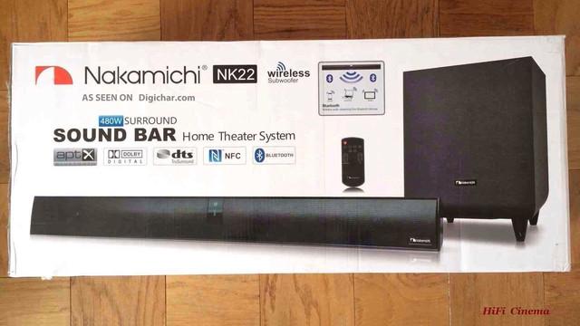 Nakamichi NK22 in box звуковой проектор в коробке HiFi Cinema