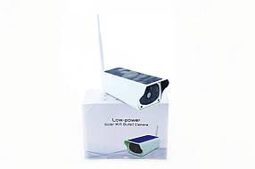 Беспроводная, аккумуляторная IP камера с солнечной панелью и записью видео на microSD, CAD F20, 2mp