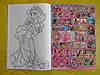 Раскраска А4 16 страниц, 100 наклеек, принцессы Дисней, фото 2