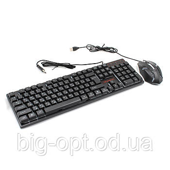 Клавиатура KEYBOARD HK-6300 + mouse