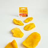 Відбірні шматочки: манго 🥭 сушене без цукру від Mr. Grapes, 120 г. Яскравий кисло-солодкий смак і м'яка текстура, фото 3