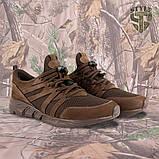 Трекінгові літні кросівки LEO шоколад, фото 4