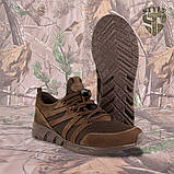 Трекінгові літні кросівки LEO шоколад, фото 5