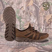 Трекінгові літні кросівки LEO шоколад