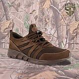 Трекінгові літні кросівки LEO шоколад, фото 3