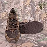 Трекінгові літні кросівки LEO шоколад, фото 6