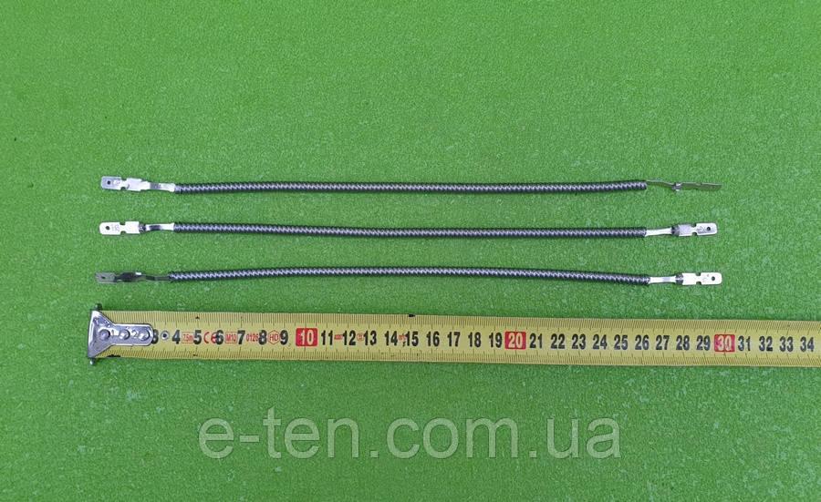 Спираль универсальная 500W / 220V / L=30см (в СЖАТОМ виде) для инфракрасных обогревателей (под трубку Ø10мм)