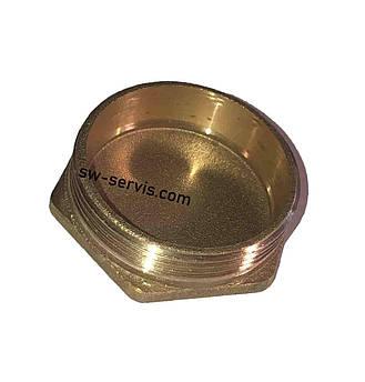 Латунная заглушка 1 1/2 дюйма с наружной резьбой