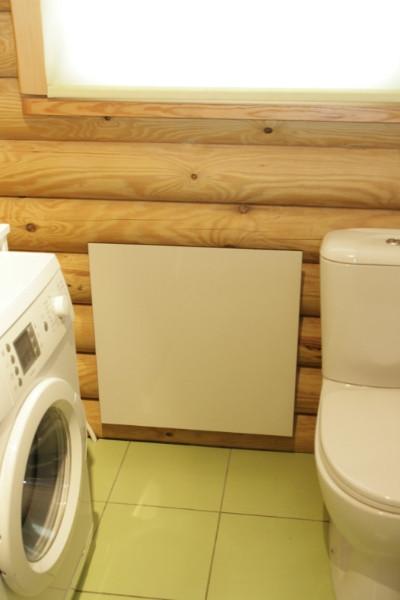 электрическая панель отопления Hybrid в ванной