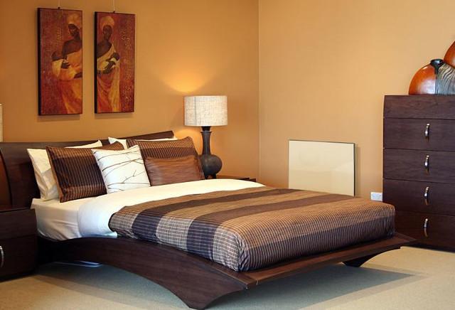 керамический обогреватель hybrid в спальне фото_2