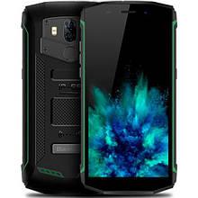Защищенный  смартфон Blackview BV5800 green с мощной батареей  5580mAh