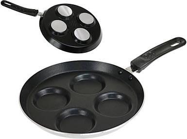 Сковорода для оладьев, яичницы Kinghoff 24см с тефлоновым антипригарным покрытием  KH3823
