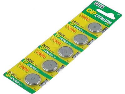 Батарейки GP Lithium CR2032