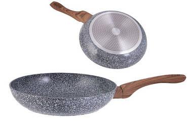Сковорода Kinghoff 20см универсальная с мраморным антипригарным покрытием KH1027