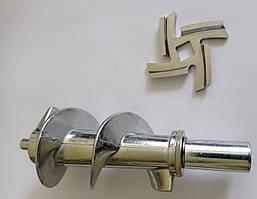 Шнек и нож  для мясорубки (Скарлет ) SCARLETT SC-MG45S43