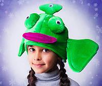 """Карнавальная шапка-маска """"Инопланетянин"""""""