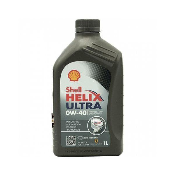 Моторное масло Shell Helix Ultra 0W-40  1л  550040467