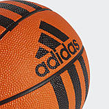 Баскетбольный мяч мини 3-Stripes X53042, фото 3