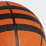 Баскетбольный мяч мини 3-Stripes X53042, фото 5