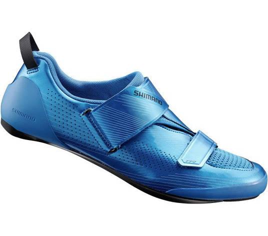 Веловзуття SHIMANO TR901MB, синє, розм. EU46, фото 2