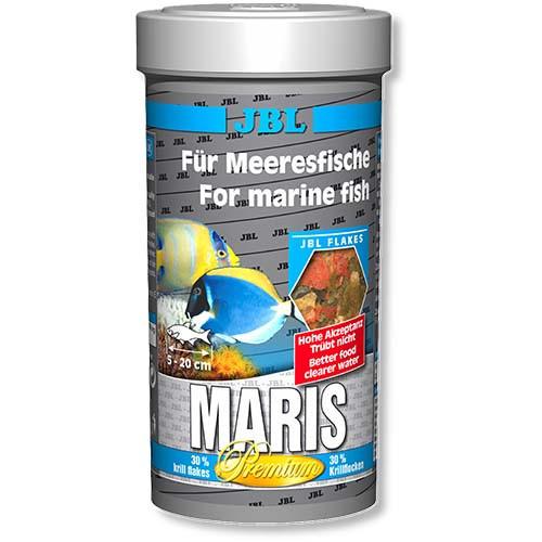 Основний корм у формі пластівців JBL Maris для морських риб, 250 мл
