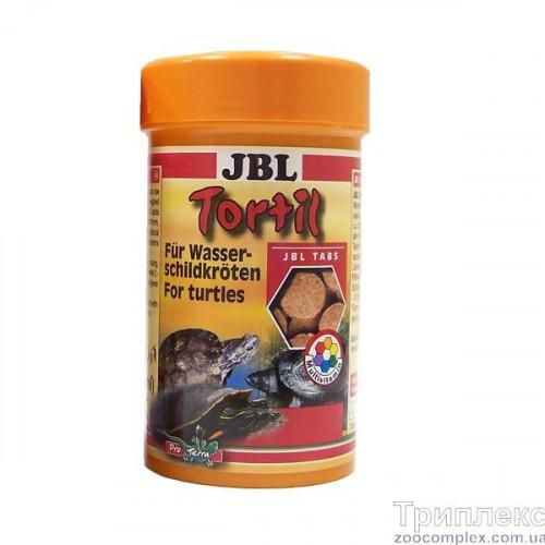 Корм в таблетках JBL Tortil для водних і болотяних черепах, 100 мл
