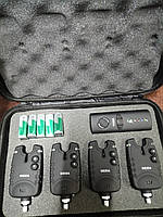 Набор электронных сигнализаторов поклевки с пейджером Weida 4+1 FA 214