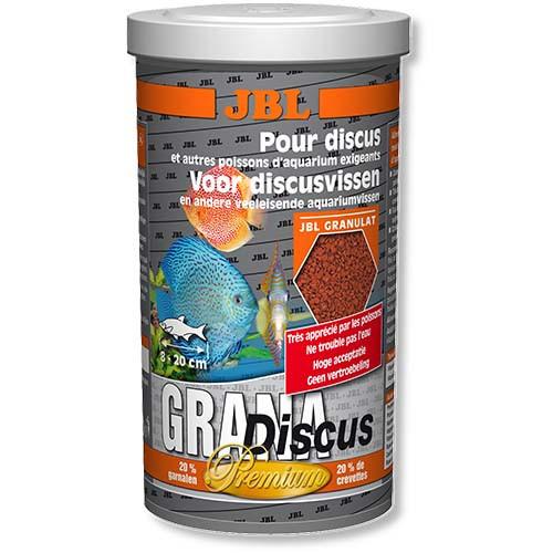 Основний корм преміум-класу в формі гранул JBL GranaDiscus для дискус, 1 л