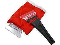 Скребок-рукавица комплект скребков для чистки стекла автомобиля 2 шт.