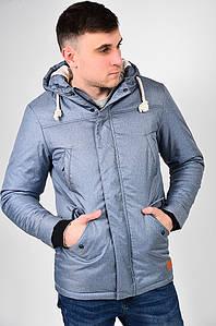 Куртка мужская еврозима серо-голубая PRIDE 127544P