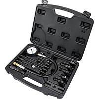 Компрессометр для дизельных двигателей YATO 70 бар 16 предметов (YT-7307)