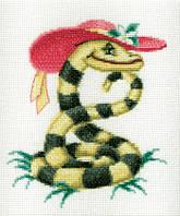 Змейка Набор для вышивки крестом RTO R242