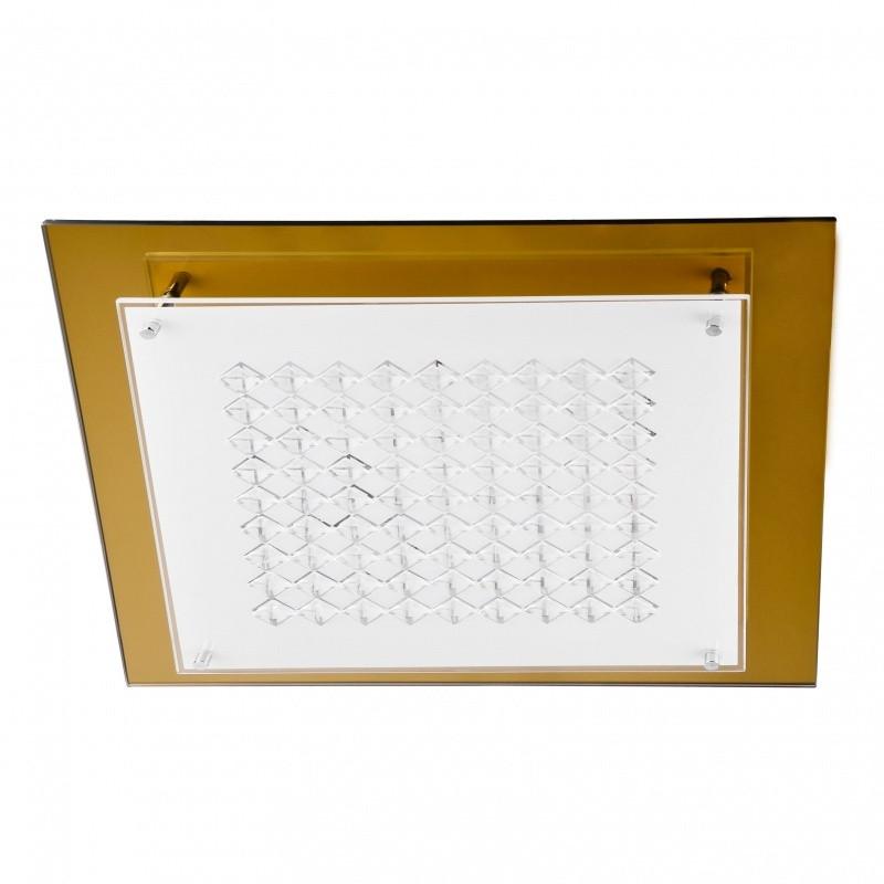 Світильник настінно-стельовий накладної BR-002 431C/3 E27 G