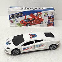 Машинка дискотека SuperCar Dream ездит и крутится 360 Трансформер