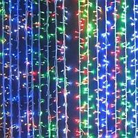 """Новогодняя гирлянда, Гирлянда светодиодная """"Водопад"""" L240 мульти, фото 1"""