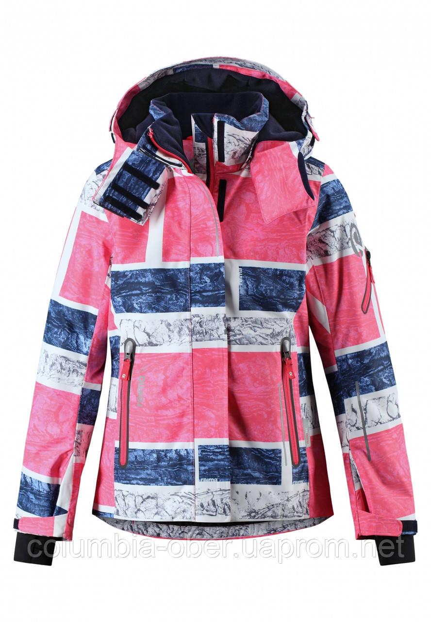 Зимняя горнолыжная куртка для девочки  Reimatec Frost 531360B-3362. Размеры 104 - 164.