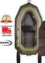 BARK B-220D Надувная одноместная гребная ПВХ лодка Барк Книжка