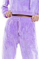 Спортивные штаны женские Lilac весенние осенние фиолетовые | Брюки женские спортивные ТОП качества, фото 1