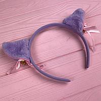 Обруч с кошачьими ушками Фиолетовый