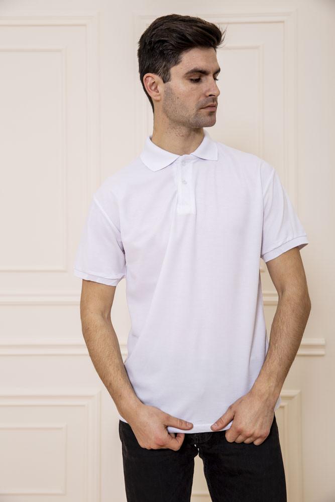 Поло чоловіча 168RA2-5 колір Білий