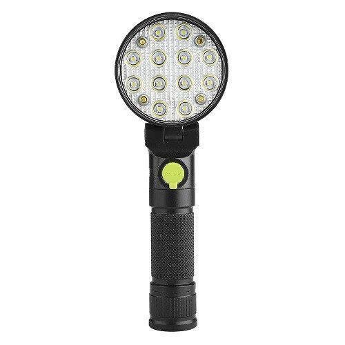 Світлодіодний ліхтар акумуляторний на магніті 12 LED 3 режими + RGB BLX3
