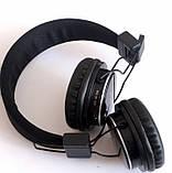 Беспроводные Bluetooth наушники Atlanfa AT-7611 Черные (300436), фото 3